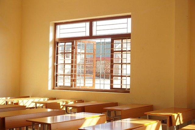 大学の教室風景